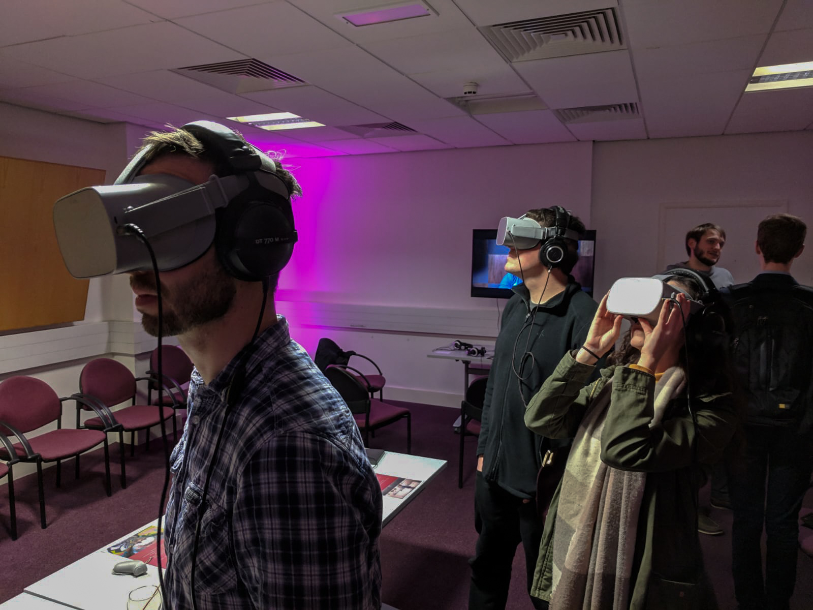 SARC_Immerse VR works, and  VR industry partner